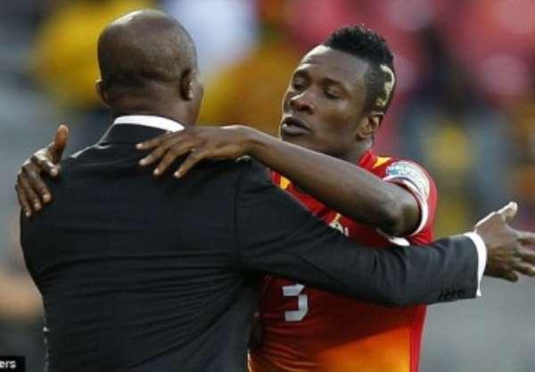 Kwesi Appiah has hailed Asamoah Gyan