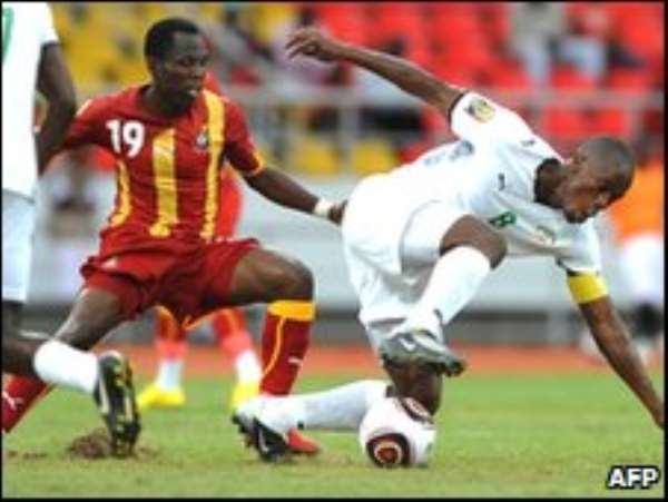 Badu has been key for Black Stars