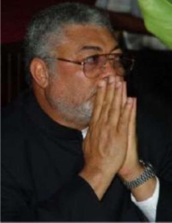 Rawlings warns Ghanaians over NDC