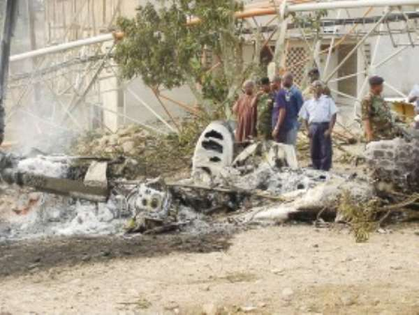TRAGEDY - HELICOPTER CRASHES WITH FUNERAL TEAM