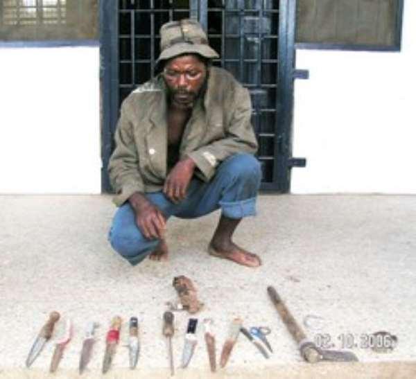 Highway Robber Arrested