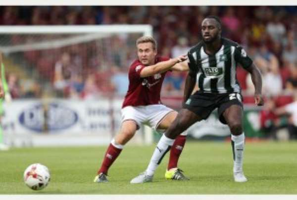 Ghanaian midfielder Hiram Boateng proves fitness with 90-minute run-out for Crystal Palace