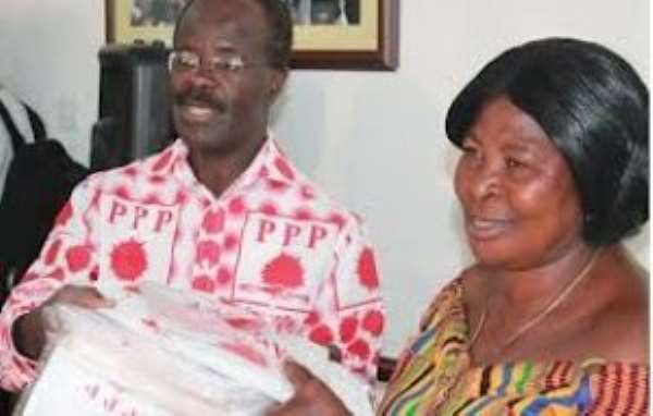 Dr. Nduom & Maame Akua Donkor