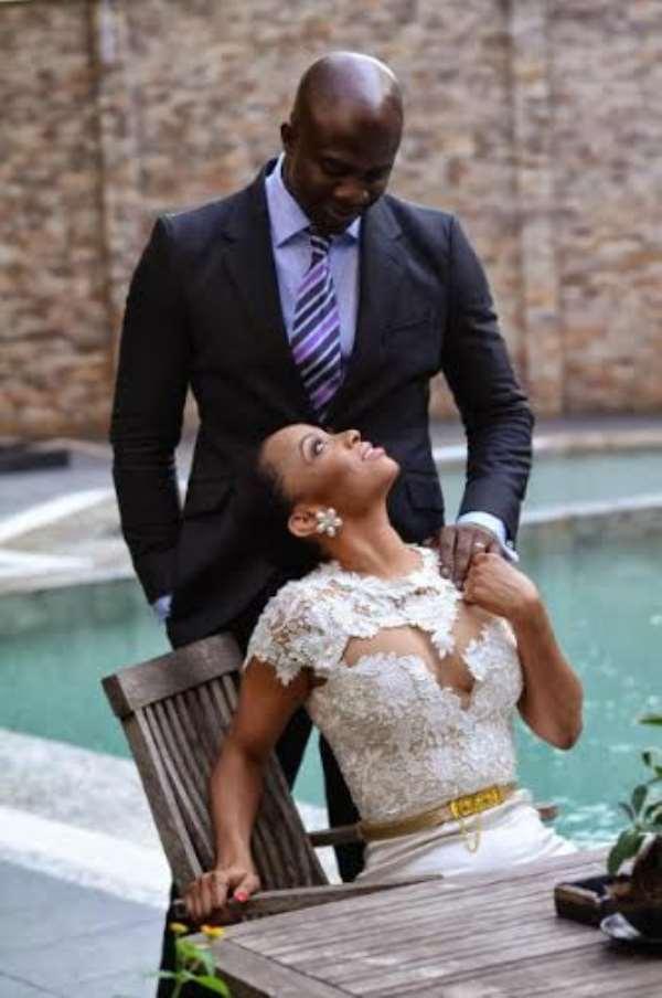 Famous OAP Toke Makinwa Opens Up On Wedding; Shares Photos