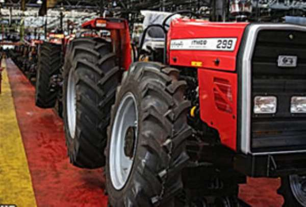 FG gets commendation tractors scheme