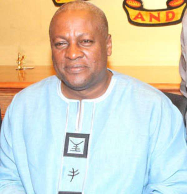 'Blame Mahama For SADA Mess'
