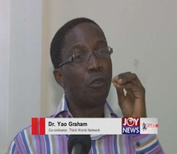 There's too much aid mentality in our elites-- Yao Graham