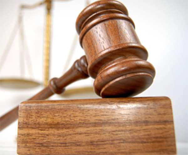 Solder In Court Over Robbery