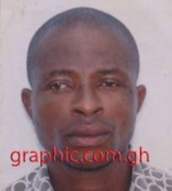 Kwadwo Yeboah is on the run after murdering his two children and their mother.
