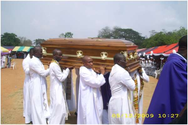 Funeral Palaver In Ghana: Celebration Of The Dead Or Life