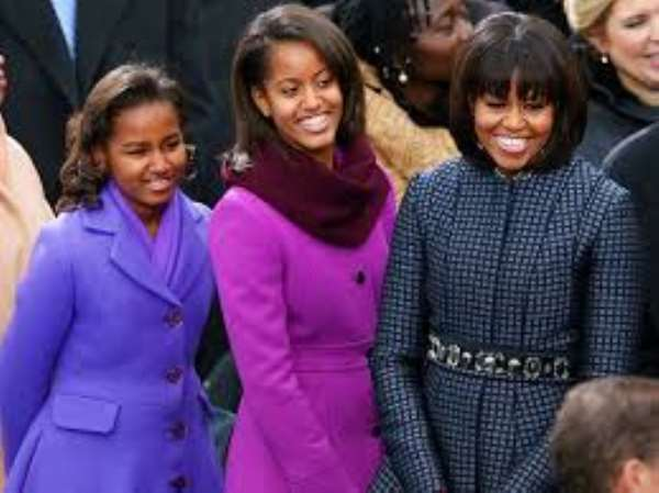 Michelle Obama And Daughters Liberia's Stopover Is A Solidarity With Struggling Liberian Women Under A Woman President