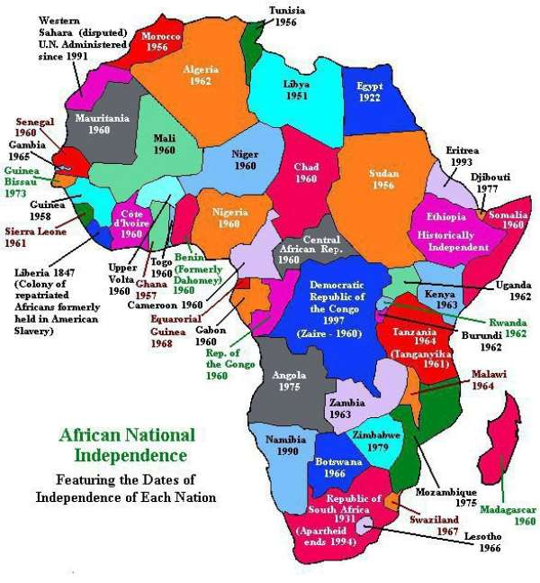 African Cultural And Fundamental Rights Council, USA Congratulates African-Americans, 50 Years After