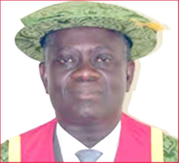 Prof Kwesi Adarkwa-KNUST Vice Chancellor