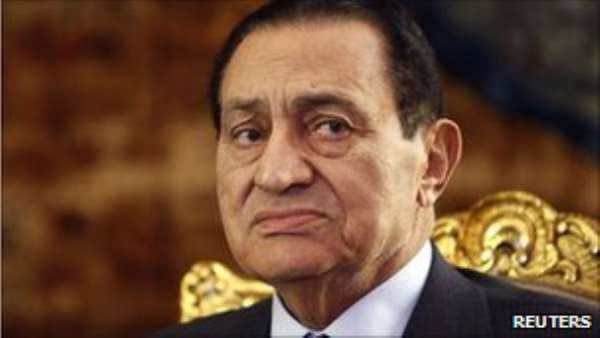 Hosni Mubarak is said to have been refusing food and drink