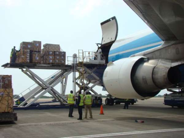 HRD Accra Airlift to Haiti