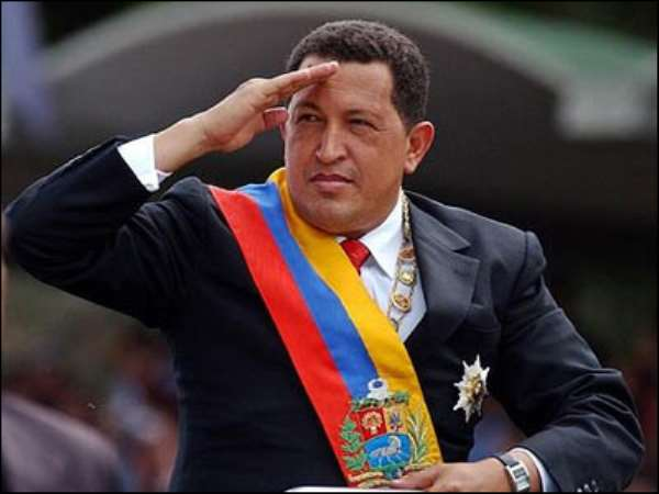 Solidarity message on the 8th anniversary of the death of El-Commandante Hugo Chavez Frias""