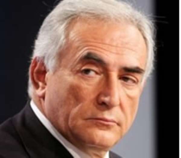 Dominique Strauss-Kahn arrived in France last week facing a frosty reception.
