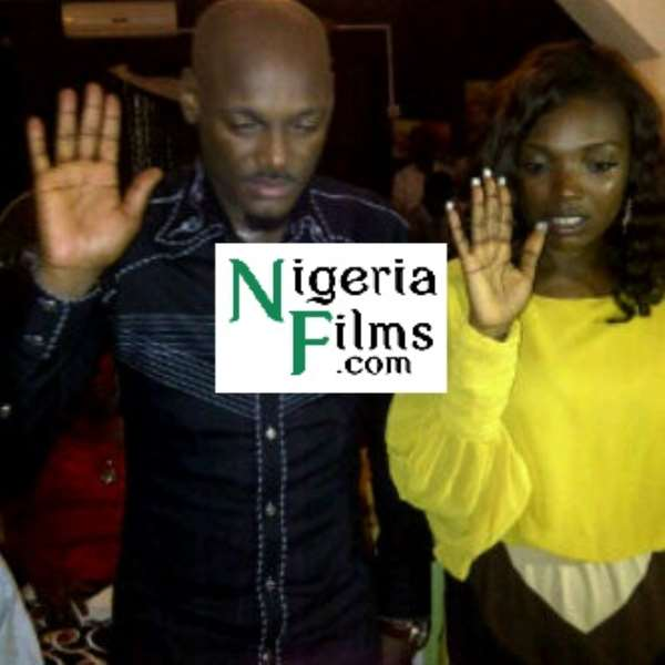 Picture: 2Face Says 'I Do' To Annie Macaulay