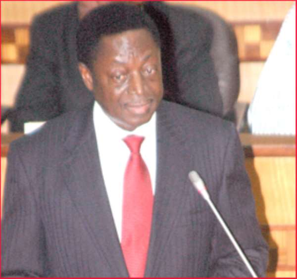 Dr  Kwabena Duffuor - Finance Minister