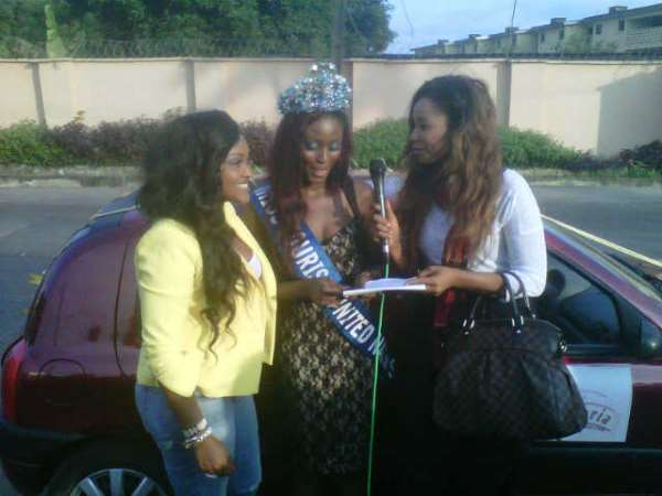 Ex-MGN Queen, Gbemisola Shotade, Gets Car From Organisers