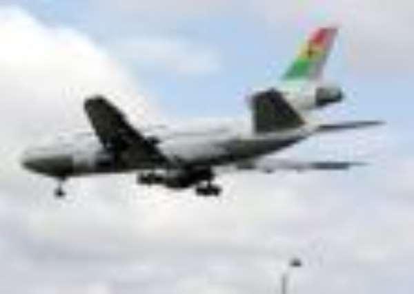 Ghana Airliner