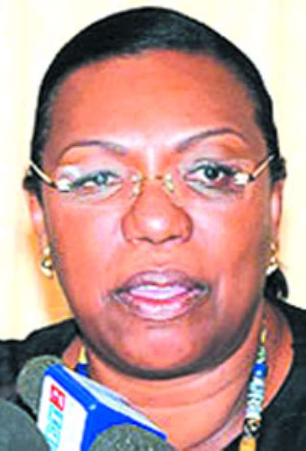 Mrs. Betty Mould Iddrisu, Attorney General & Minister of Justice