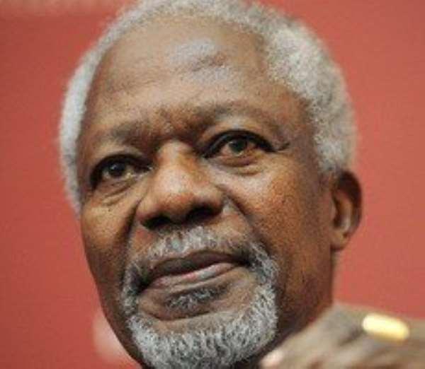 University of Ghana confers honorary degrees on Kofi Annan, 13 others