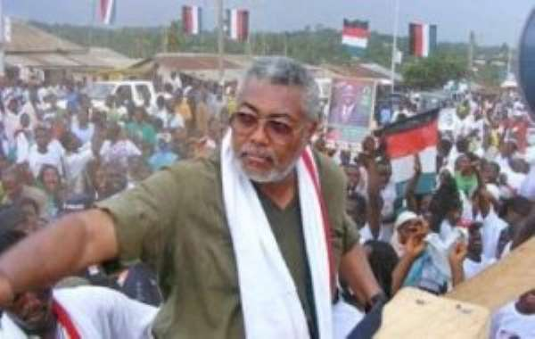 Rawlings Agrees Out-Of-Court Settlement With Former Ghana Ambassador