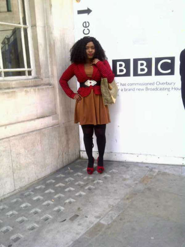 NIGERIA'S HALIMA ABUBAKAR INSPIRES AT BBC CENTRE