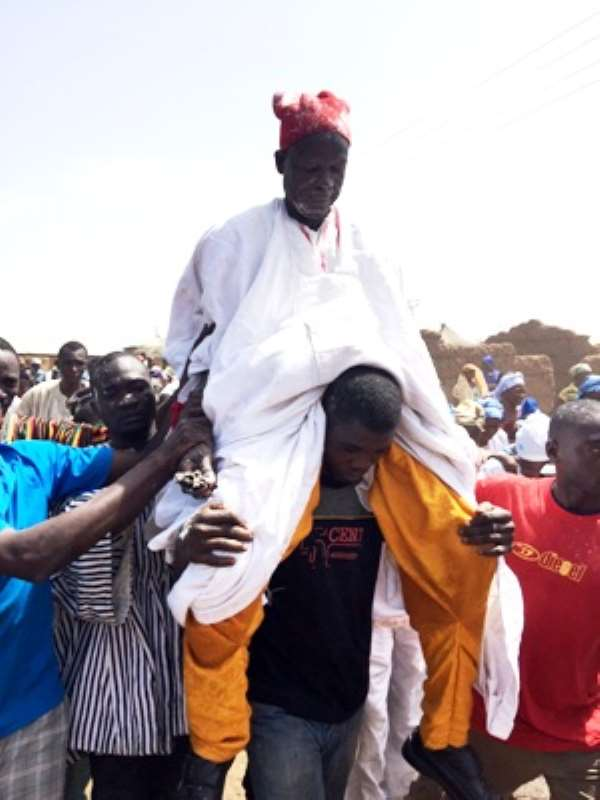Former NADMO Coordinator Crowned Chief Of Nabari
