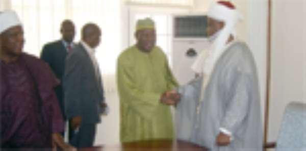 Sultan Of Sokoto Meets Veep