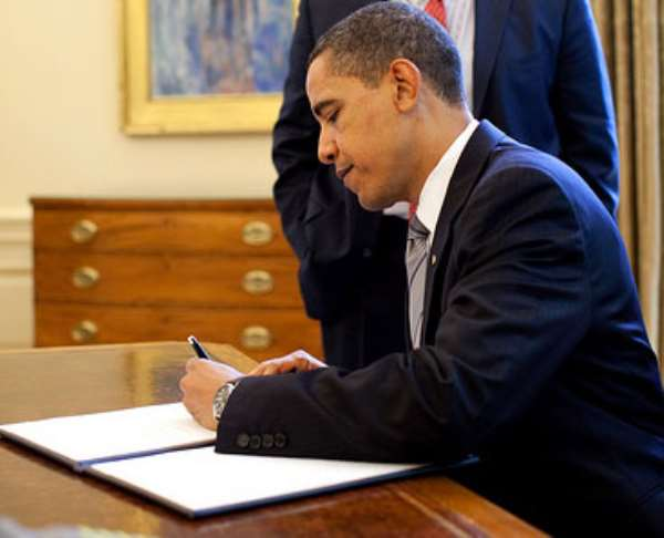 How about a letter from Barack Obama?