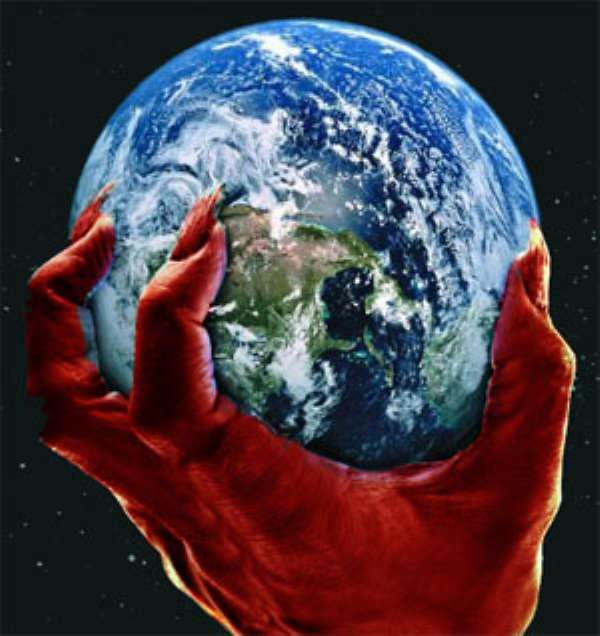 Satan Holding World