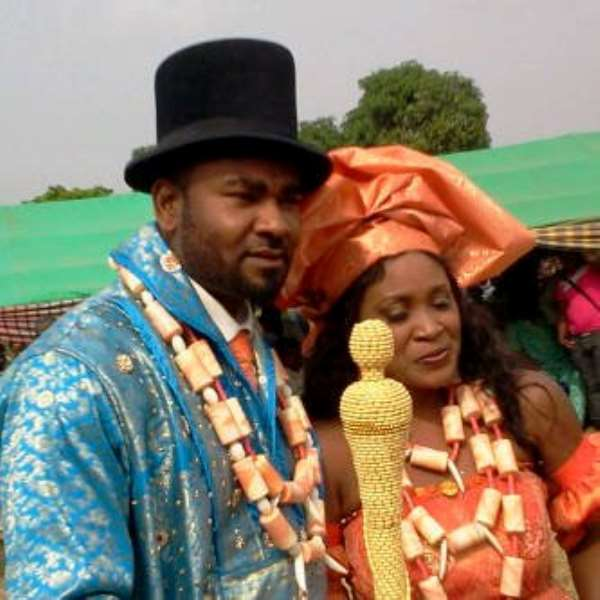 Songstress Cum Actress Muma Gee Weds Prince Eke In Style