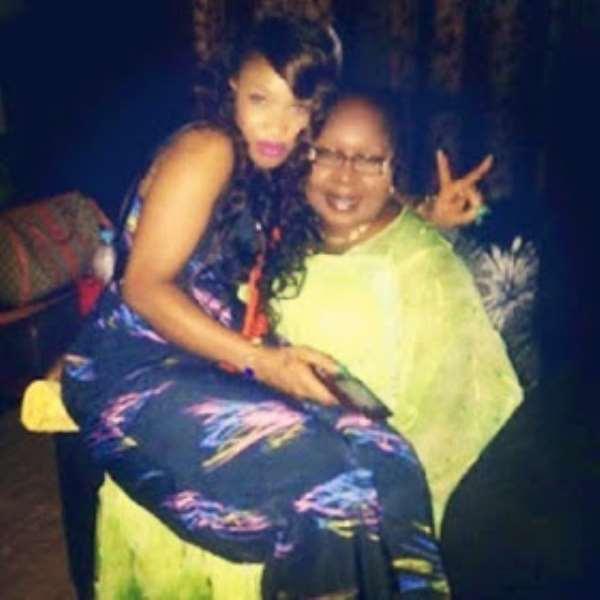 Nollywood Actress Tonto Dikeh Shares Photos Of Her Parents