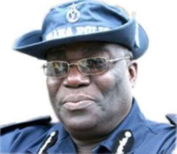 Inspector General of Police - Mr Paul Tawiah Quaye