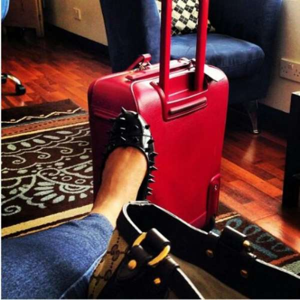 Juliet Ibrahim Stopped From Boarding At The Airport Because Of Spike Fashion Shoes