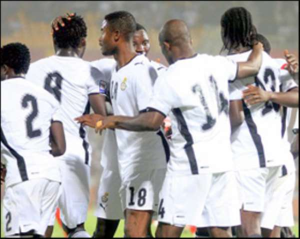 the black stars are ready to shine