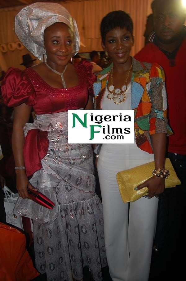 Genevieve, Ini Edo: Who Rocked Funke Akindele's Wedding Better?