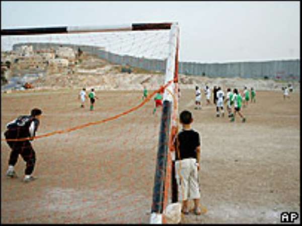 World Cup unity in the West Bank