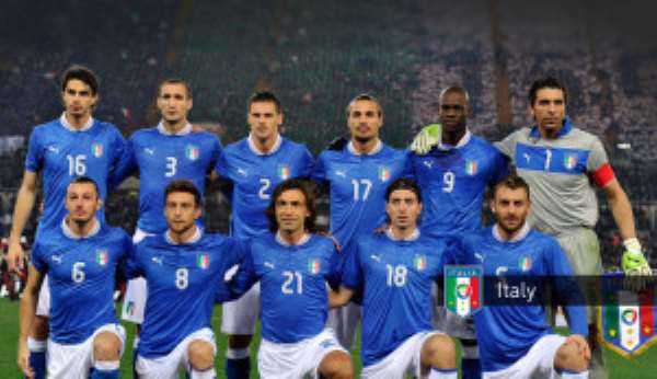 Italy close in on reaching Brazil 2014 World cup