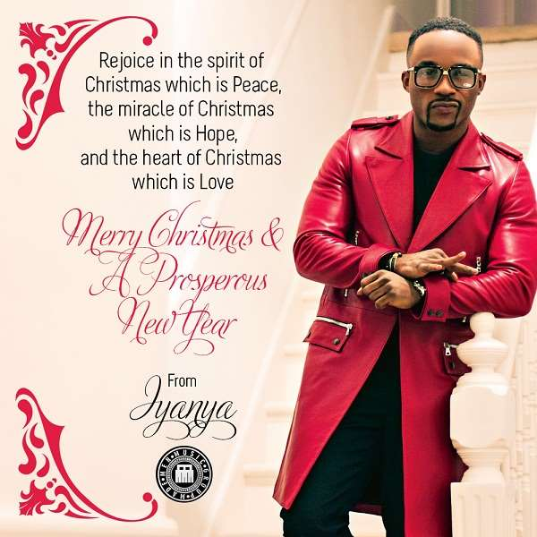 IYANYA UNVEILS CHRISTMAS CARD & NEW PROMO PICTURES