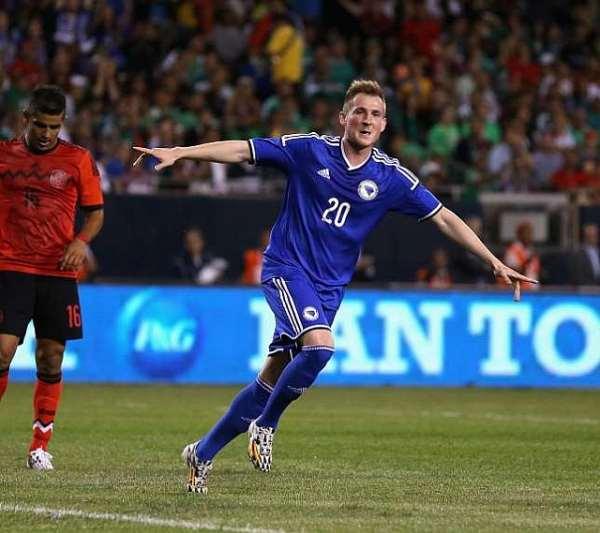 International Friendly: Mexico 0 Bosnia-Herzegovina 1