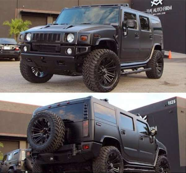 Jude Okoye Acquires Customised Hummer Jeep