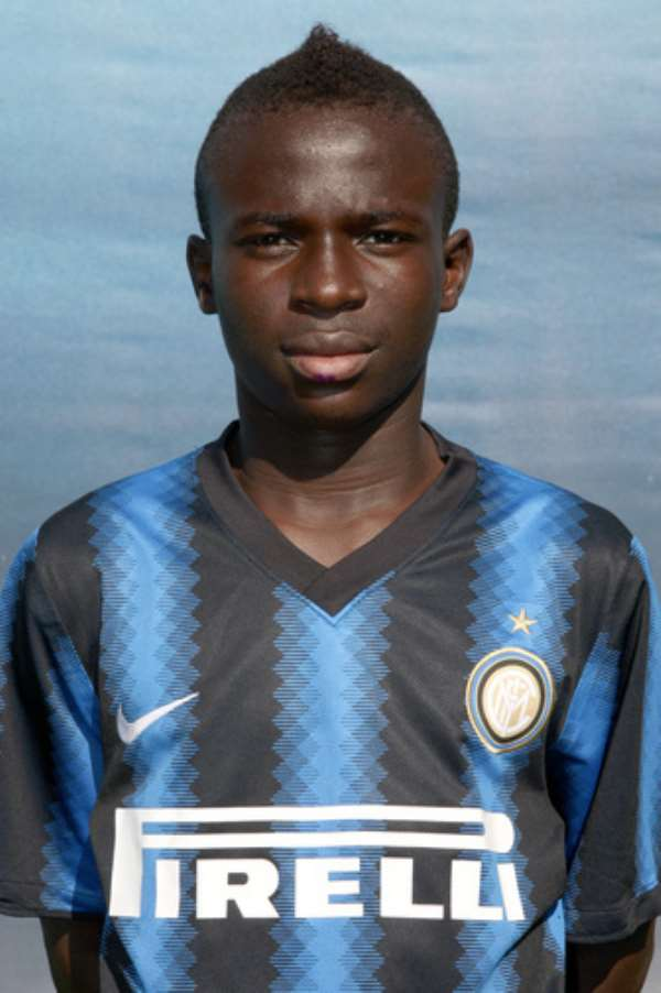 Teenage striker banned for five matches for racially abusing Ghanaian youngster Justice Opoku in Italy