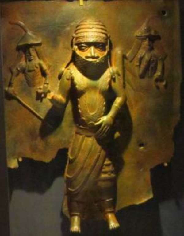 Chief Owangue, Benin, Nigeria, now in Horniman Museum, London, United Kingdom.