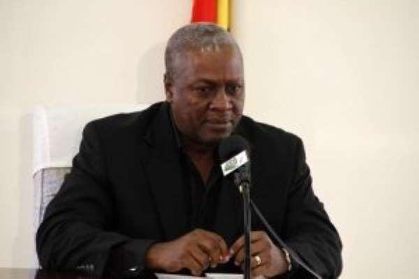 Showcase new things happening in Africa – Mahama tells International media