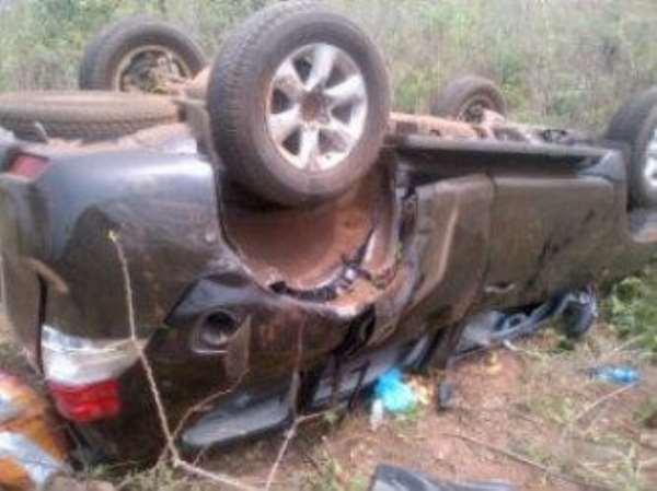 RMD Survives Ghastly Car Accident