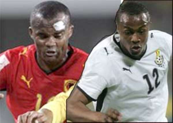 Flavio and Andre Dede Ayew