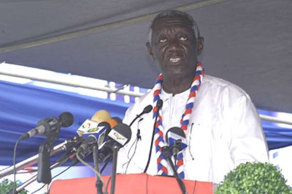 Congress Marks The Beginning Of The End For Me - Kufuor